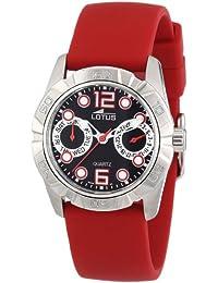 431cf8523d77 Lotus 15706-4 - Reloj analógico de cuarzo para mujer con correa de caucho