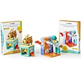 Funvention Paper Automaton Combo Pack (Paper Bot & Paper Puppy) - Science Educational Toys - Innovative Learning Gift Toy Set (Birthday Gifts) - Mechanical Science Learning Kit - Build Your Own Toy With Movements