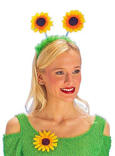 Paare Kinder Kostüm - Sonnenblumen Haarreif zum Gärtnerin oder Blumenwiese Kostüm
