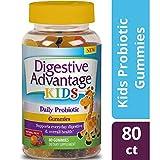 Digestive Advantage Daily Probiotics for Kids Supplement, Gummies, 80 Count