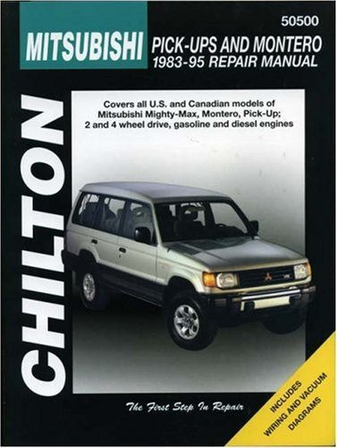 mitsubishi-pick-ups-and-montero-1983-95-haynes-repair-manuals-1st-edition-by-chilton-1996-paperback