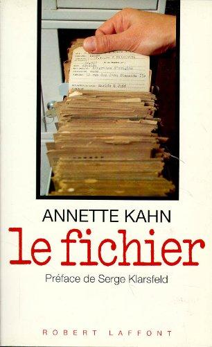 FICHIER par ANNETTE KAHN