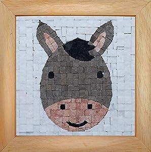 Trois petits points Mosaic Box Donkey Face-GEANT, 6192459602639, Universal