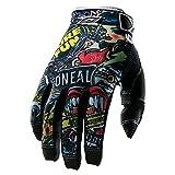 O 'Neal Jump Crank Handschuhe Fahrrad, Kinder XL Schwarz (schwarz/Mehrfarbig)