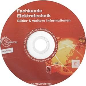 Fachkunde Elektrotechnik, Bilder-DVD Einzellizenz zur 27. Auflage