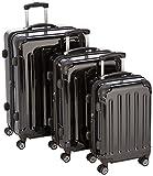 2048 Zwillingsrollen 3 tlg. Reisekofferset Koffer Kofferset Trolley Trolleys Hartschale