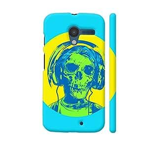 Colorpur Dead Rockstar Artwork On Motorola Moto X1 Cover (Designer Mobile Back Case)   Artist: Abhinav