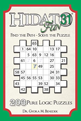 Hidato fun 31: 203 New Logic Puzzles