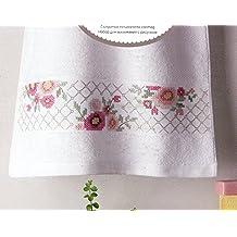 Rico diseño flores Kit toalla, 100% algodón, multicolor