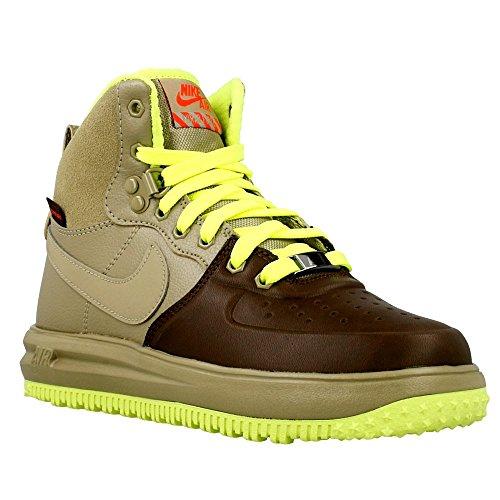 Nike Jungen Lunar Force 1 Sneakerboot Gs Basketballschuhe Verde / Marrón (Bmb / Bmb-Brq Brwn-Brght Crmsn)