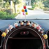 RAP Decorazione di gioielli interni per auto Decorazione per auto personalità Creativa per auto di fascia alta Decorazione per donna 10 pezzi 10 set di bambole + palloncini colorati