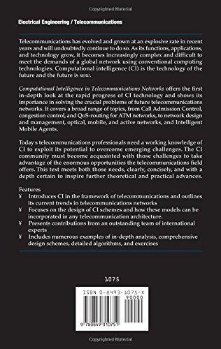 Computational Intelligence in Telecommunications Networks