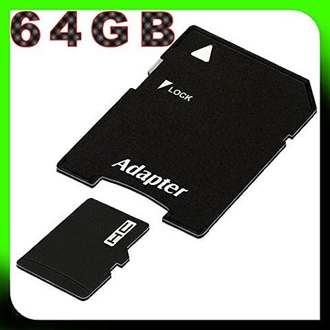 tomaxx 64GB / 64 GB Class 10 micro SDXC Speicherkarte