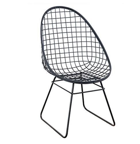 Canyi Z Nordic Metall Stacheldraht Stuhl Sitz kommerziellen Eisen Sitz zurück Sofa Stuhl Größe:...