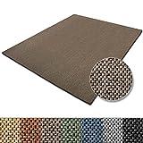 Teppich Sabang | viele Farben und Größen | Flachgewebe, Sisaloptik | Qualitätsprodukt aus Deutschland | GUT Siegel | für Wohnzimmer, Kinderzimmer, Flur etc. (beige, 80x150cm)