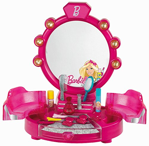 Barbie - Salón de belleza con accesorios,...