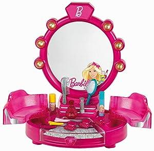 Theo Klein-5322 Barbie Salón De Belleza Con Accesorios, Version Mesa, Juguete, Multicolor (5322)