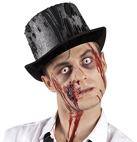 Generique - Chapeau haut de forme zombie adulte