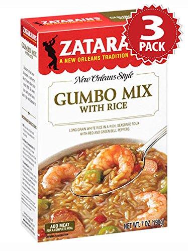 Zatarain's Reisgericht - Gumbo With Rice - 3er Pack (3x198g) Zatarains Gumbo Mix
