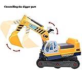 mymotto Ride-On Bagger Truck Spielzeug für Kinder LKW Spielzeug mit