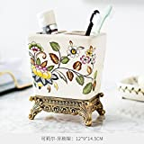 TIANLIANG04 Becher Kaffeetassen Eis Knacken Keramische Abziehbild Dekoration Shukoubei Soap Box Eine Vielzahl Von Hand Spülmittel Flasche, Zahnbürste, Zahnpasta Rack A
