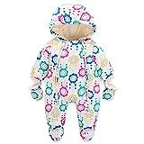 Baby Schneeanzug Spielanzug Winter Overall Reißverschluss Vorne