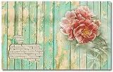 LONGYUCHEN Benutzerdefinierte 3D Wandbild Tapete Ziegelmauer Muster Frische Gartenblumen Geeignet Für Wohnzimmer Schlafzimmer Hotel Café Wohnkultur Seide Wandbild,260Cm(H)×420Cm(W)