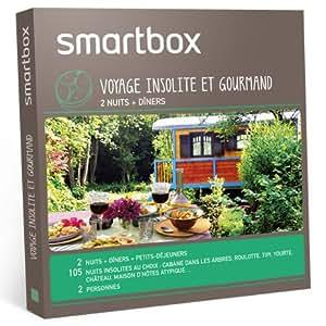 SMARTBOX - Coffret Cadeau - Voyage insolite et gourmand