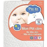 P'tit Lit - Matelas bébé Mon P'tit Clim - Eté Hiver - Fabrication française