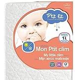 P'tit Lit - Matelas bébé Mon P'tit Clim - 70 x 140 x 10 cm - Eté Hiver -...