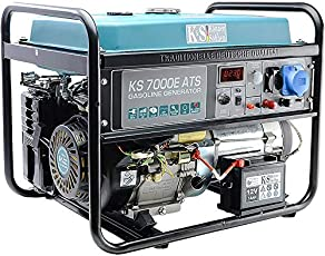 K&S Benzin Generator | 230V Stromaggregat | KS10000E ATS | 8KW | Stromerzeuger Profi