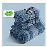 FRYH Bagno in Tre Pezzi,badetuch Groß,bio-handtücher,badetücher Set,großes Mikrofaser-badetuch ,saunatücher Palermo 100% Baumwolle,A