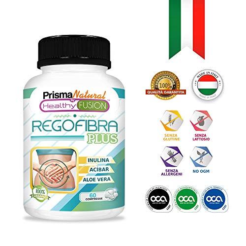 Potente Probiotico con Aloe Vera e Inulina [10 miliardi UFC] | Regola il transito intestinale e migliora la digestione | Previene la stitichezza - Azione depurativa - Elimina le tossine | 60 compresse