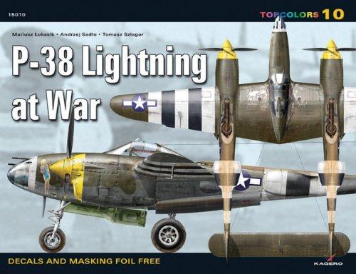 P-38 Lightning at War (Top Colours)