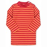 Baby-Shirt, langarm, Gr:-62/68 Farbe:-Kirschrot/Orange