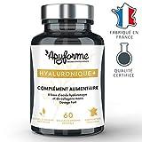 Acide Hyaluronique + Collagène Marin • Complément alimentaire Anti Rides et Anti Age 100% Français • 1 Mois de Cure, 60 Gélules • Fabriqué et Conditionné en France par Apyforme