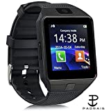 Padraig DZ09 with Camera,Touch Screen, Bluetooth, Support SIM Card, SD Card Smartwatch (Black)