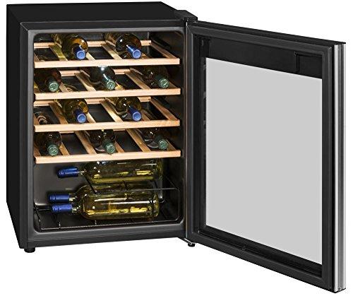 Weinkühlschrank Getränkekühlschrank Weinkühler • EEK A • 24 Flaschen • LED...