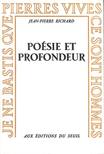 Poésie et Profondeur