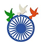 Tri Color Bird 3D - Republic Day Decoration / Republic Day Decoration / National Day Celebration / Patriotic Decoration / Tri color decoration Decoration / Republic Day Decoration / National Day Celebration / Patriotic Decoration