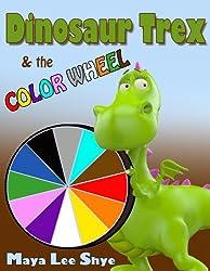 Dinosaur Trex & the Color Wheel