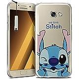 "Samsung Galaxy A5 (2017) 5.2"" A520F Étui HCN PHONE® Coque silicone TPU Transparente Ultra-Fine Dessin animé jolie pour Samsung Galaxy A5 (2017) 5.2"" A520F + mini stylet - Stitch"