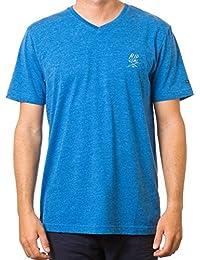 Rip curl surf solid pour homme à manches courtes et col en v t-shirt