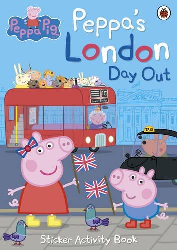 Image of Peppa's London Day Out Sticker Activity Book (Peppa Pig)
