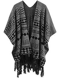 Amazon.fr   laine noire - Châles   Echarpes et foulards   Vêtements 13dfe715070