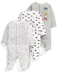 Mamas & Papas 3pk Animal Aio, Polaina para Bebés