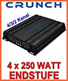 Crunch GPX1000.4 4.0 Auto Cablato Nero amplificatore audio