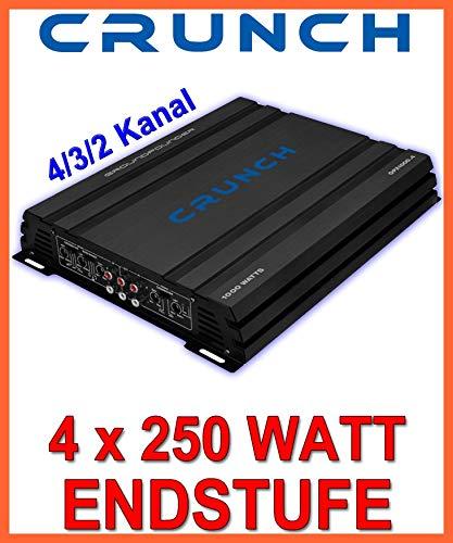 Crunch GPX 1000.4 Kanäle -