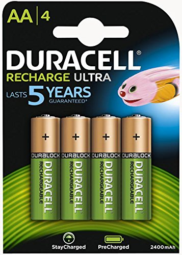 Batterie DURACELL Staycharged Lot de 4 piles Nimh Aa 2400mAh Game Points Direct