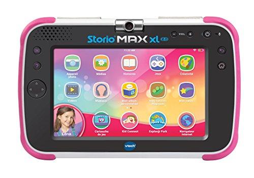 VTech - Tablette Storio Max XL 2.0 rose - Tablette enfant 7 pouces,...